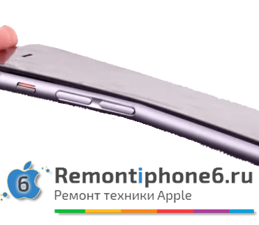 iPhone 6 Plus гнется