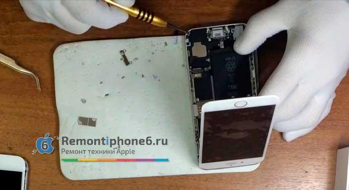 Замена разъема гарнитуры iPhone 6