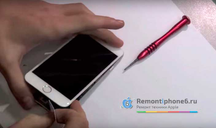 Замена стекла, модуля экрана, дисплея iPhone 6