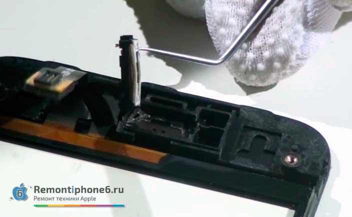Заменить микрофон на iPhone 6